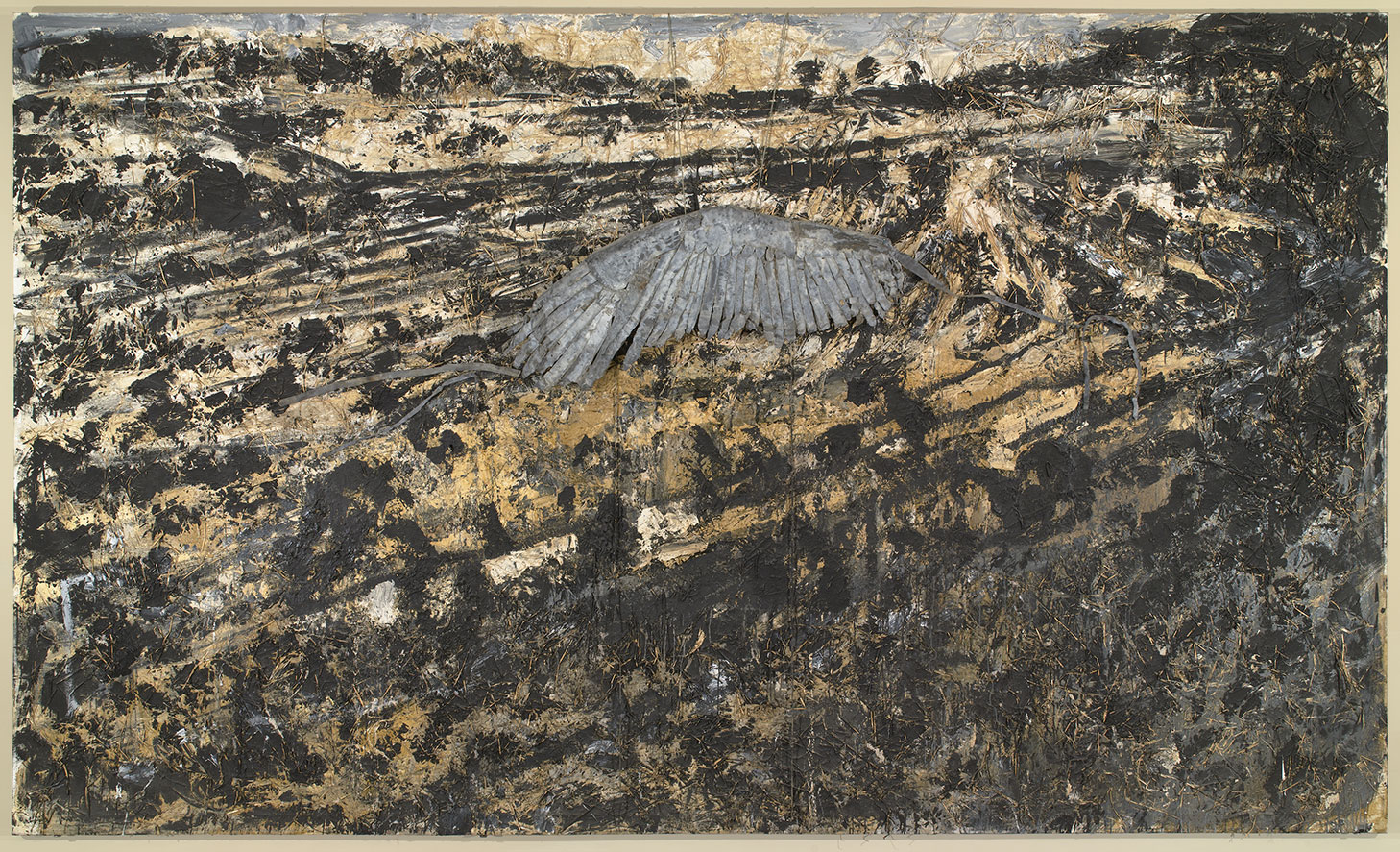 Kiefer Landscape with Wing